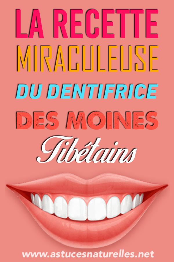 Pour avoir une santé parfaite et des dents éclatantes comme les moines tibétains, Voici leur recette miracle…