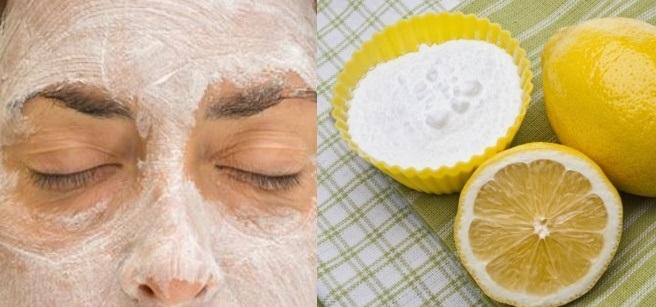 appliquez ce masque au bicarbonate de soude et au citron sur votre visage quelque chose d. Black Bedroom Furniture Sets. Home Design Ideas