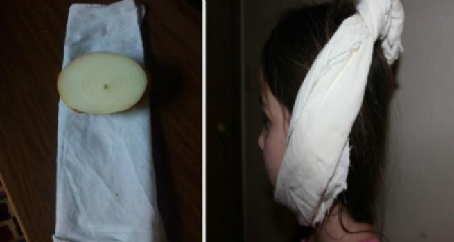 Si vous collez un oignon sur votre oreille, les résultats seront stupéfiants…Le dernier est particulièrement génial !