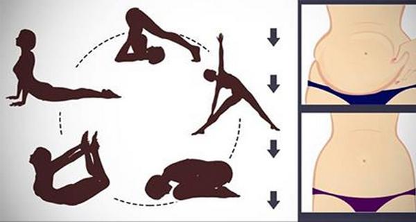 3 postures de yoga pour r u00e9duire la graisse tenace du ventre