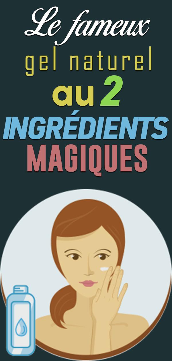 Gel maison à 2 ingrédients pour se débarrasser des vergetures, des taches de vieillesse, de l'acné, des coups de soleil et des cicatrices
