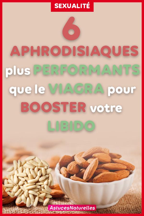 6 aphrodisiaques naturels qui vont booster votre libido…Ils sont plus performants que le Viagra !