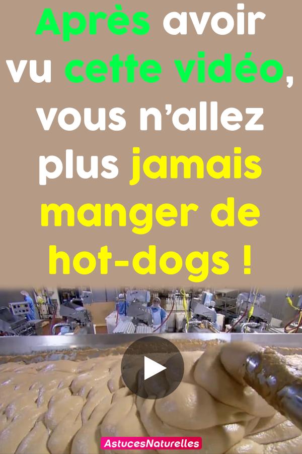 Après avoir vu cette vidéo, vous n'allez plus jamais manger de hot-dogs!
