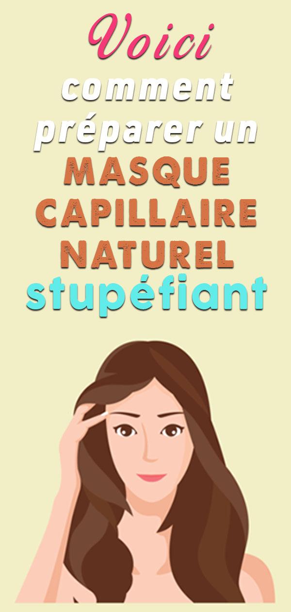 Appliquez ce masque sur vos cheveux et attendez 30 minutes…Les effets seront stupéfiants !