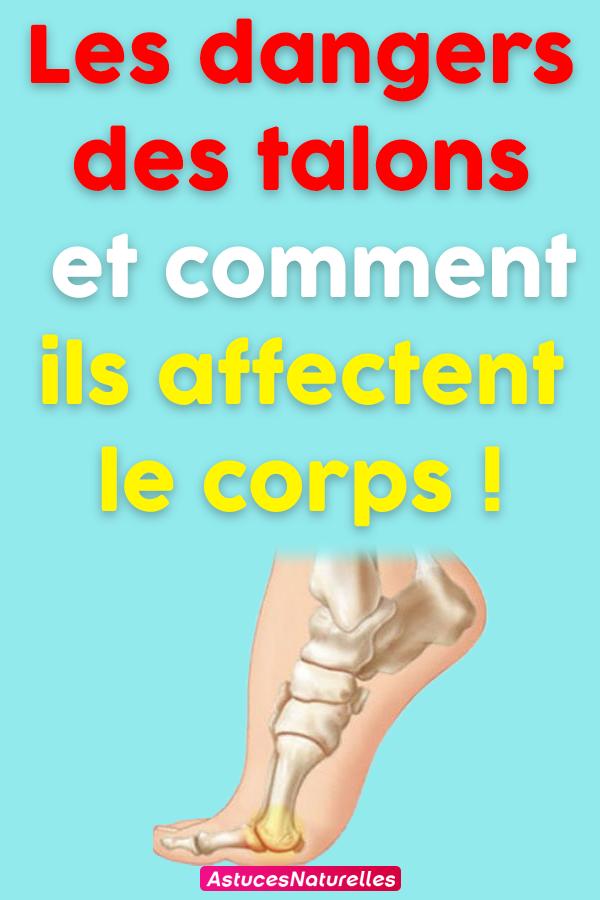 Les dangers des talons et comment ils affectent le corps !