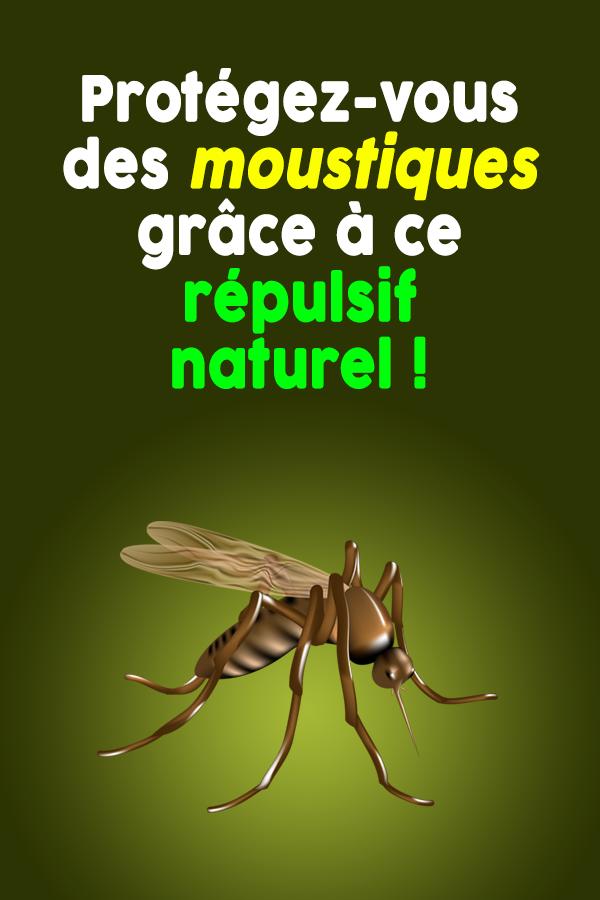 Protégez-vous des moustiques grâce à ce répulsif naturel !