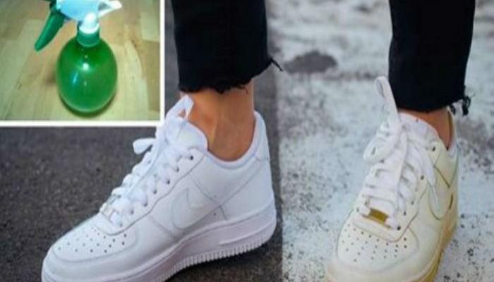 Il suffit de suivre cette astuce pour avoir des chaussures blanches comme neuves !
