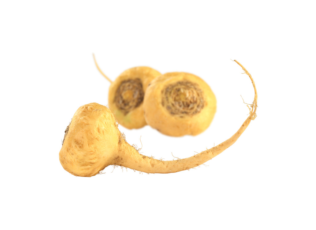Peruvian Ginseng (Sp. Maca lat. Lepidium meyenii) which is widely used in Peru for its various health effects and high nutritional value