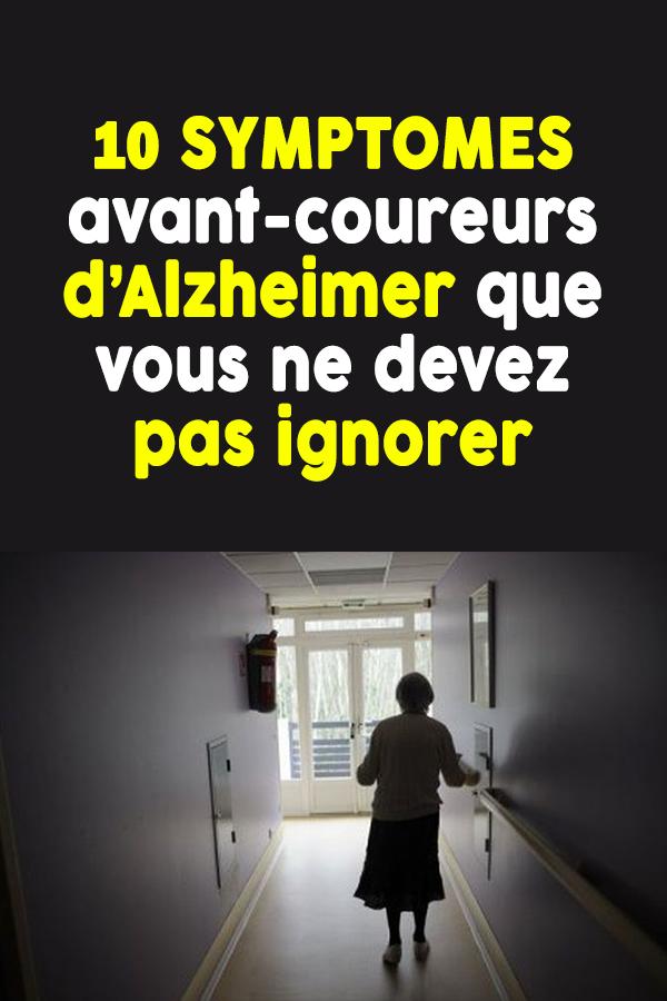 10 SYMPTOMES avant-coureurs d'Alzheimer que vous ne devez pas ignorer