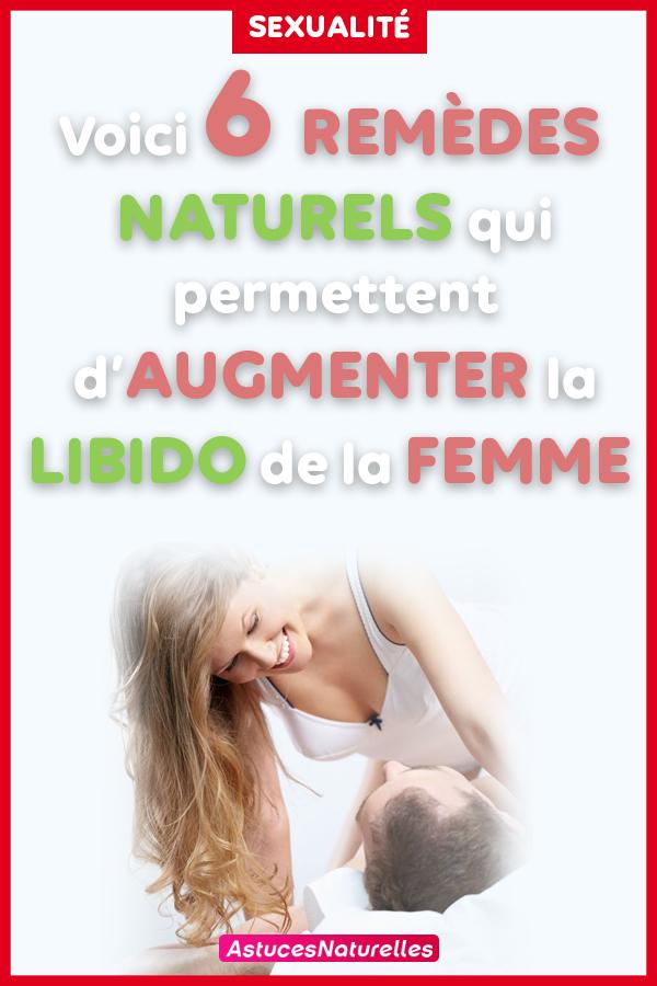 Voici 6 remèdes naturels qui permettent d'augmenter la libido de la femme…