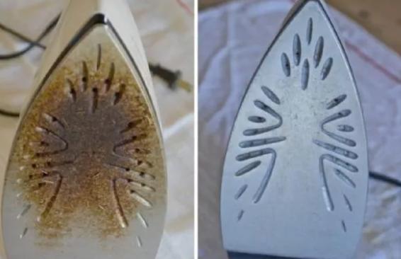 Voici comment nettoyer votre fer à repasser brûlé et le rendre comme neuf !