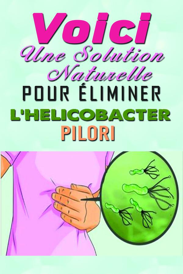 Un médecin japonais a révélé COMMENT TUER l'Helicobacter Pylori dans le corps humain…Une Solution Naturelle et Inoffensive !