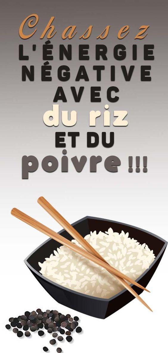 Placez une poignée de riz non cuit et trois grains de poivre dans un bol … Si seulement on m'avait dit cela depuis longtemps !
