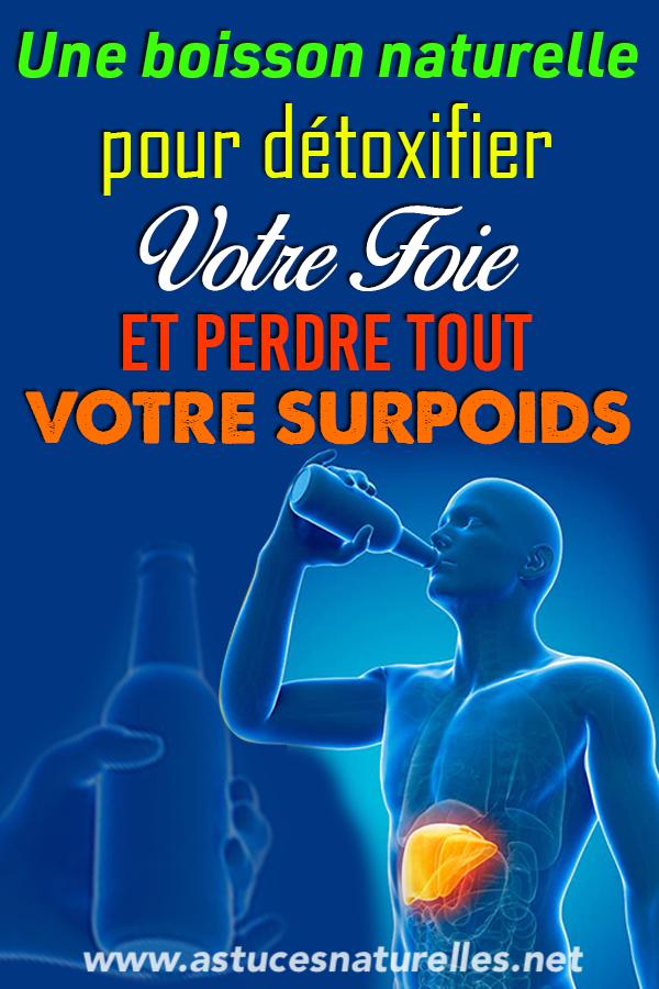 Nettoyez votre foie et perdez TOUT votre surpoids en 72 heures avec cette boisson exceptionnelle ! Voici la recette à suivre…