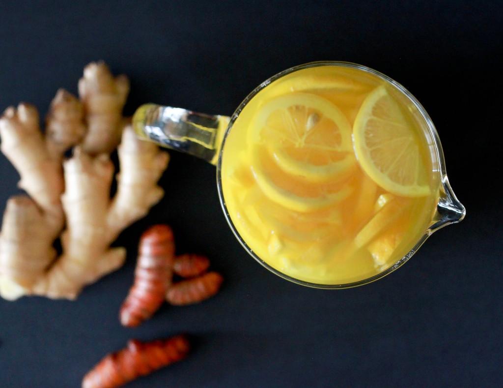 L'infusion citron gingembre curcuma, un élixir médicinal pour le bien-être ! Essayez-le …