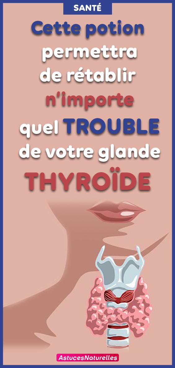 En utilisant 1 seul ingrédient naturel, rétablissez chaque anomalie éventuelle au niveau de votre thyroïde … Vous n'entendrez Jamais un médecin vous dire cela !