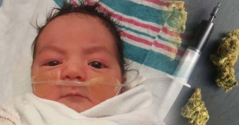 Pour la première fois de l'histoire de la médecin moderne, l'huile de cannabis sera utilisée dans un hôpital … pour sauver un bébé de 2 mois !!