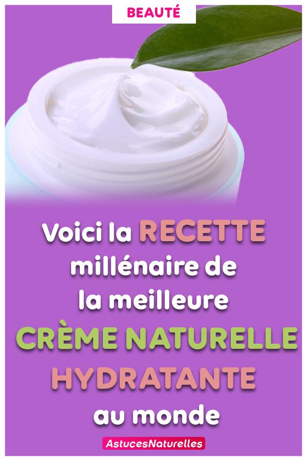 Recette: Une crème hydratante ancestrale et naturelle … C'est la meilleure que vous pouvez utiliser !