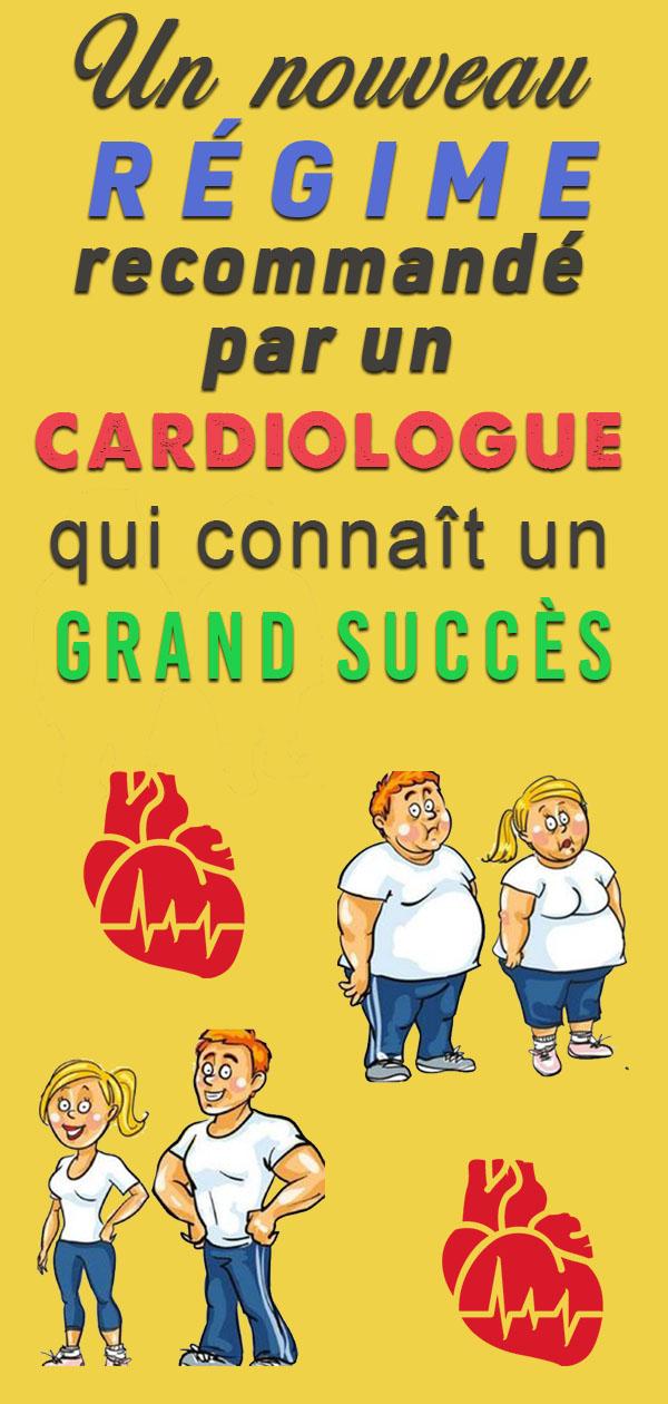 Ce cardiologue présente un régime incroyable : C'est un bon moyen pour perdre 10 kilos de surpoids en 7 jours …