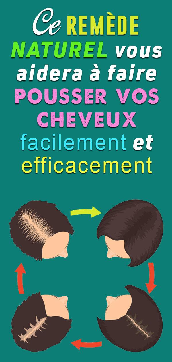 Efficace et Simple : Cette recette naturelle fait pousser vos cheveux en seulement une semaine !