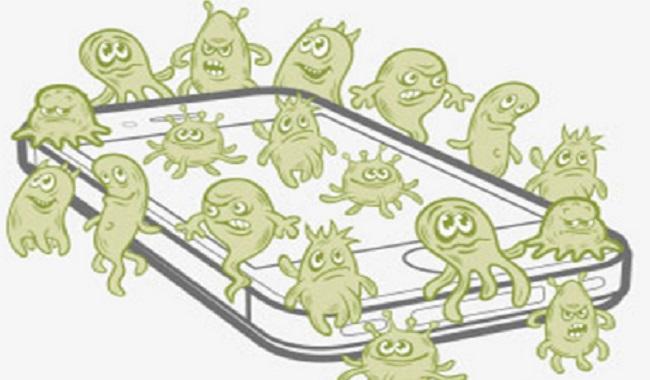 bacterie-sur-telephones-portables