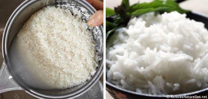 voici comment cuire le riz avec de l 39 huile de coco pour br ler plus de graisses et n absorber. Black Bedroom Furniture Sets. Home Design Ideas