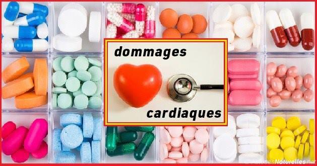 Surprenant : Ces médicaments et suppléments contribuent à endommager le cœur !
