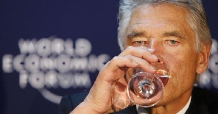 Selon le PDG de Nestlé, l'accès à l'eau ne fait pas partie des droits de l'homme, elle doit être privatisée…