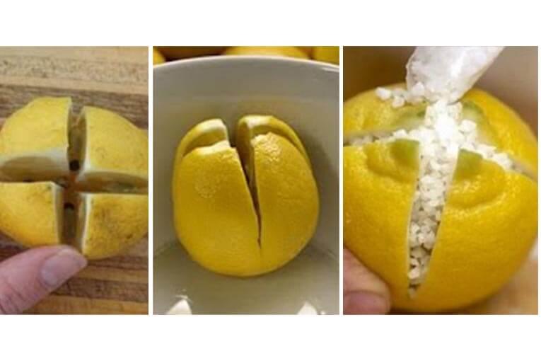 Coupez les citrons et les garder dans votre chambre à coucher ... Voyez ce qui se passe !