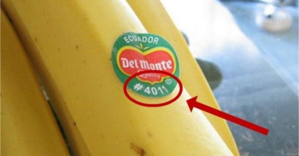 Si vous voyez ces étiquettes sur les fruits et les légumes, ne les achetez surtout pas! Voici pourquoi…