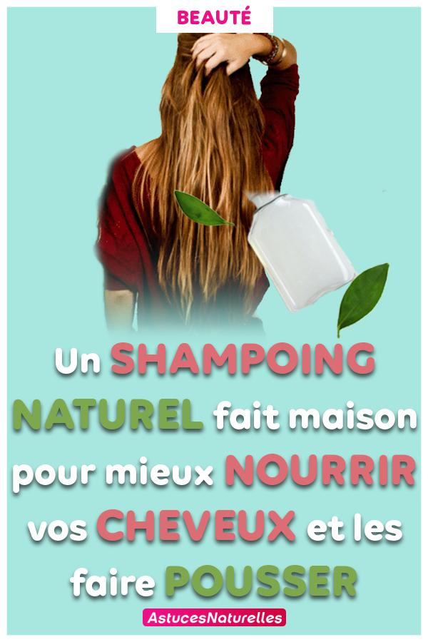 Pour des cheveux brillants, longs et volumineux, ce Shampoing naturel fait maison est ce qu'il vous faut ! (RECETTE ET MODE D'EMPLOI)