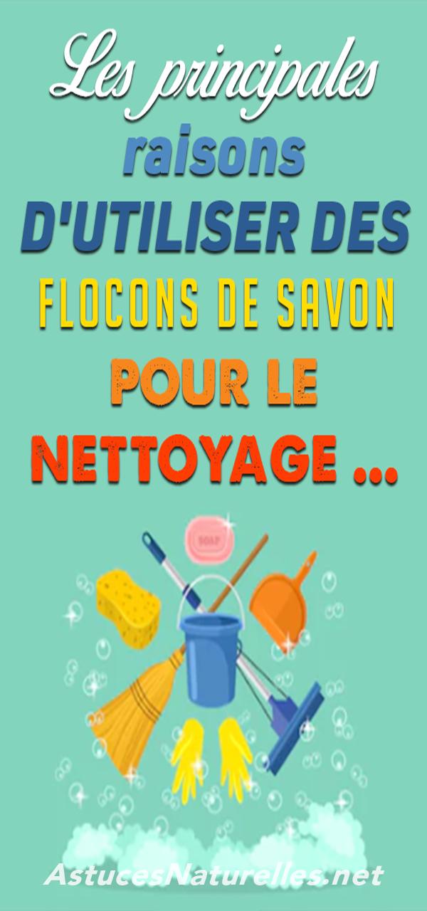 Les principales raisons d'utiliser des flocons de savon pour le nettoyage …