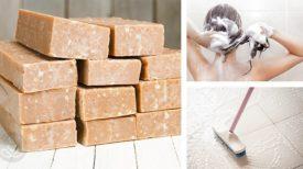 5 façons d'utiliser le savon de castille : cheveux, dents, lessive…