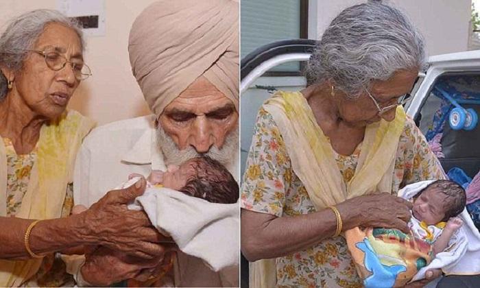 Elle donne naissance à son premier enfant à 72 ans! Découvrez à quoi ressemble le bébé !