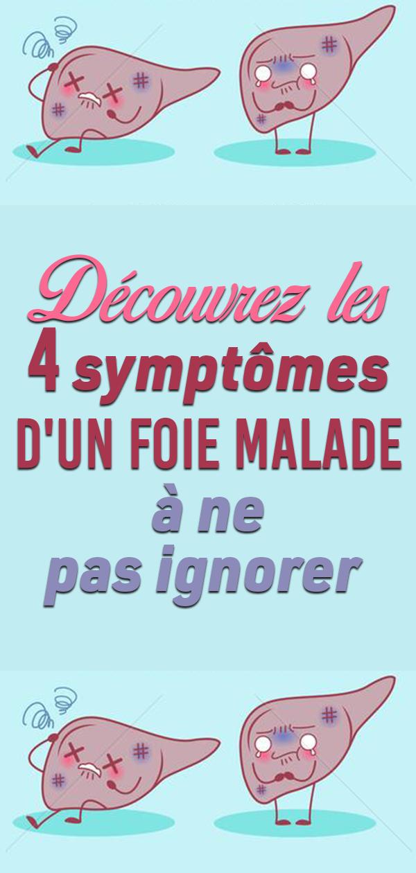 Découvrez les 4 symptômes d'UN FOIE MALADE à ne pas ignorer !