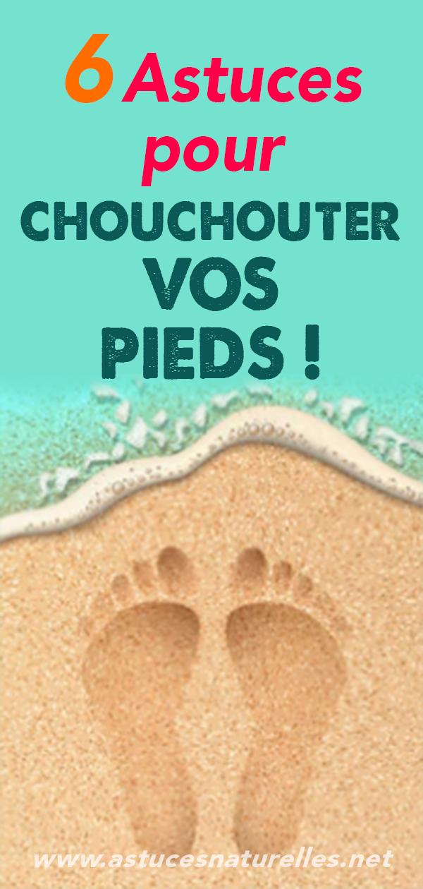 6 Astuces pour chouchouter VOS PIEDS !
