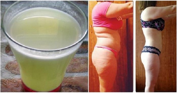 Buvez un verre de cette boisson tous les matins avant le petit-déjeuner, et brûlez plus facilement vos graisses corporelles !