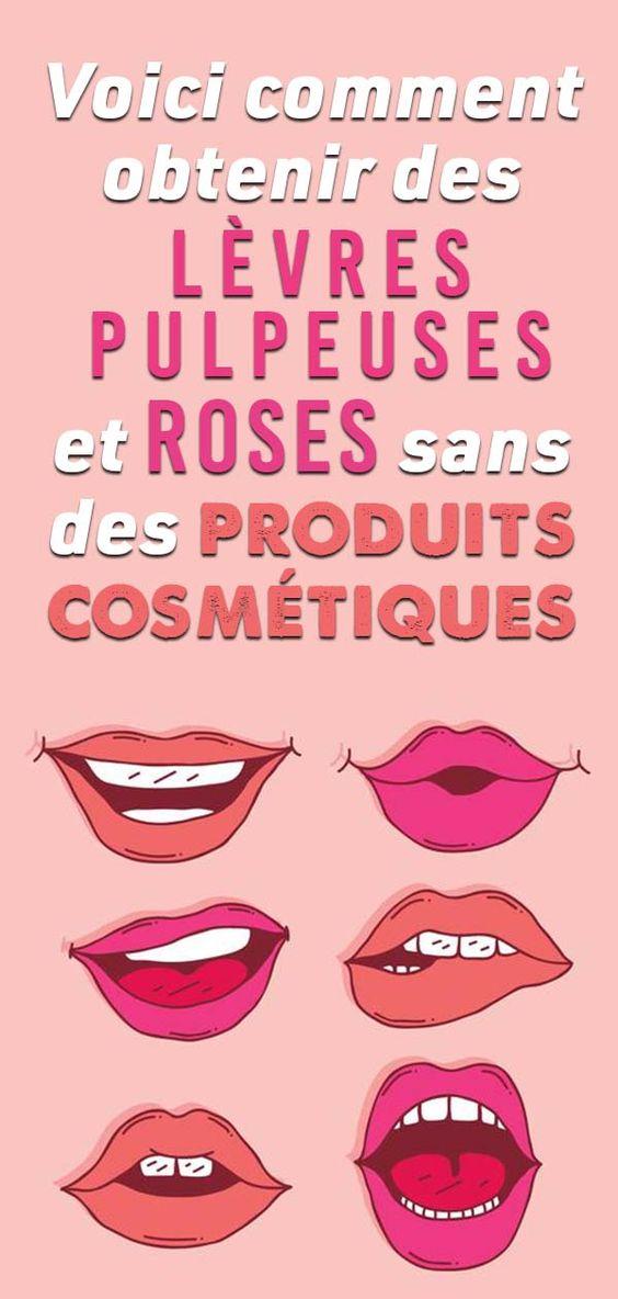 Plus Besoin de rouge à lèvres : Après avoir utilisé cet ingrédient, vos LÈVRES deviendront naturellement roses !