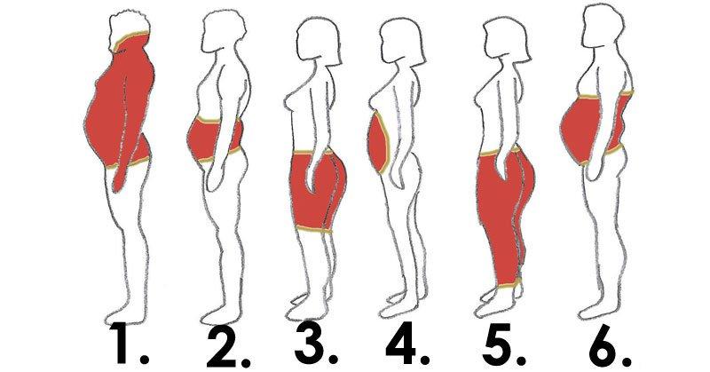 En fonction de là où se localisent vos graisses corporelles, voici les solutions à adopter.
