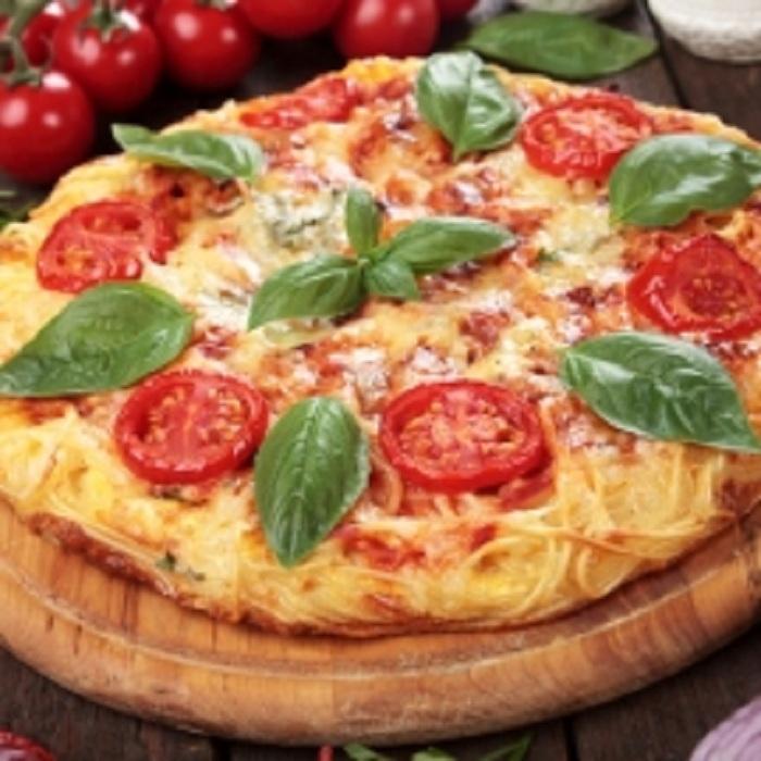 Recette de pizza fait-maison : la pizza aux spaghettis !