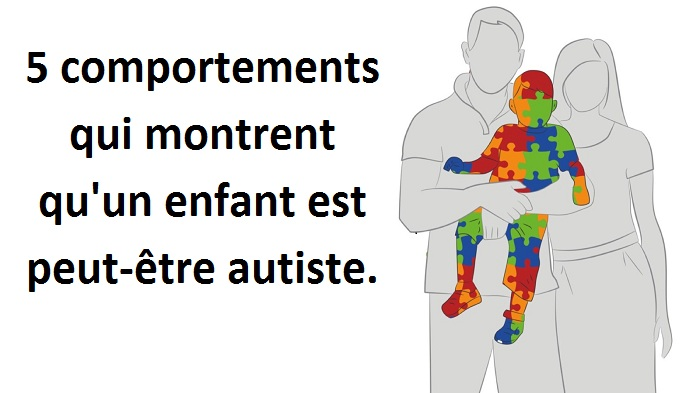 5 comportements qui montrent qu'un enfant est peut-être autiste.