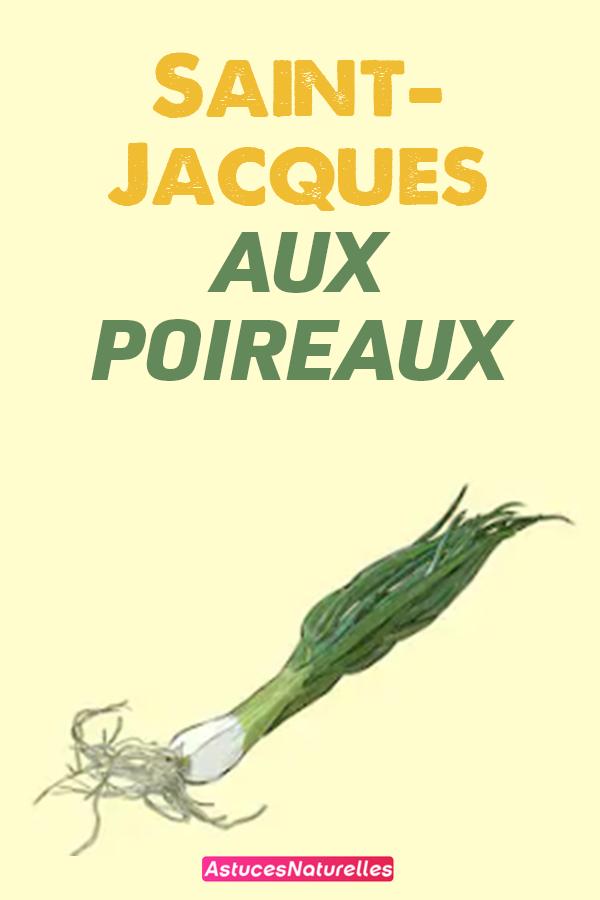 Saint-Jacques aux poireaux