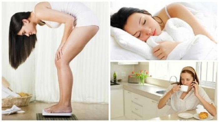 5 Habitudes matinales qui nous font prendre du poids !
