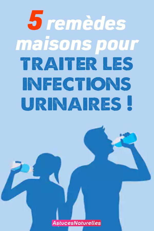 5 remèdes maisons pour traiter les infections urinaires !