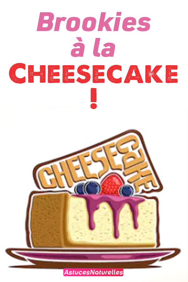 Brookies à la Cheesecake !