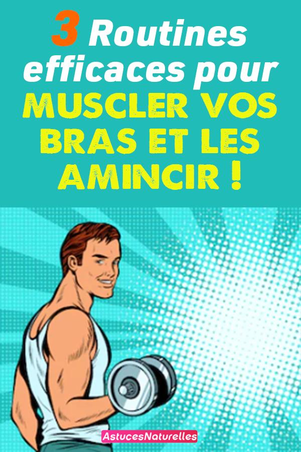 3 Routines efficaces pour muscler vos bras et les amincir !