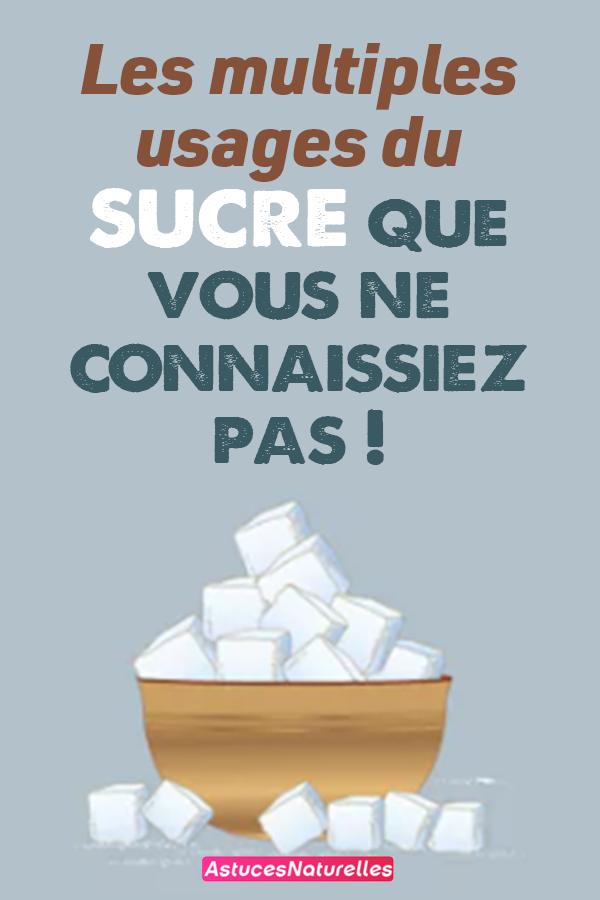 Les multiples usages du sucre que vous ne connaissiez pas !