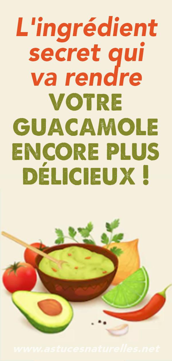 L'ingrédient secret qui va rendre votre guacamole encore plus délicieux !