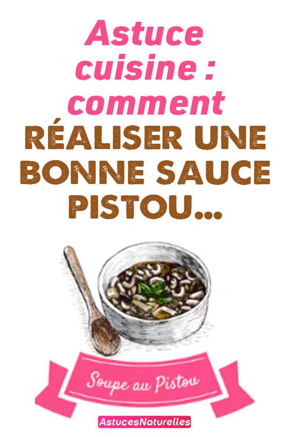 Astuce cuisine : comment réaliser une bonne sauce pistou…