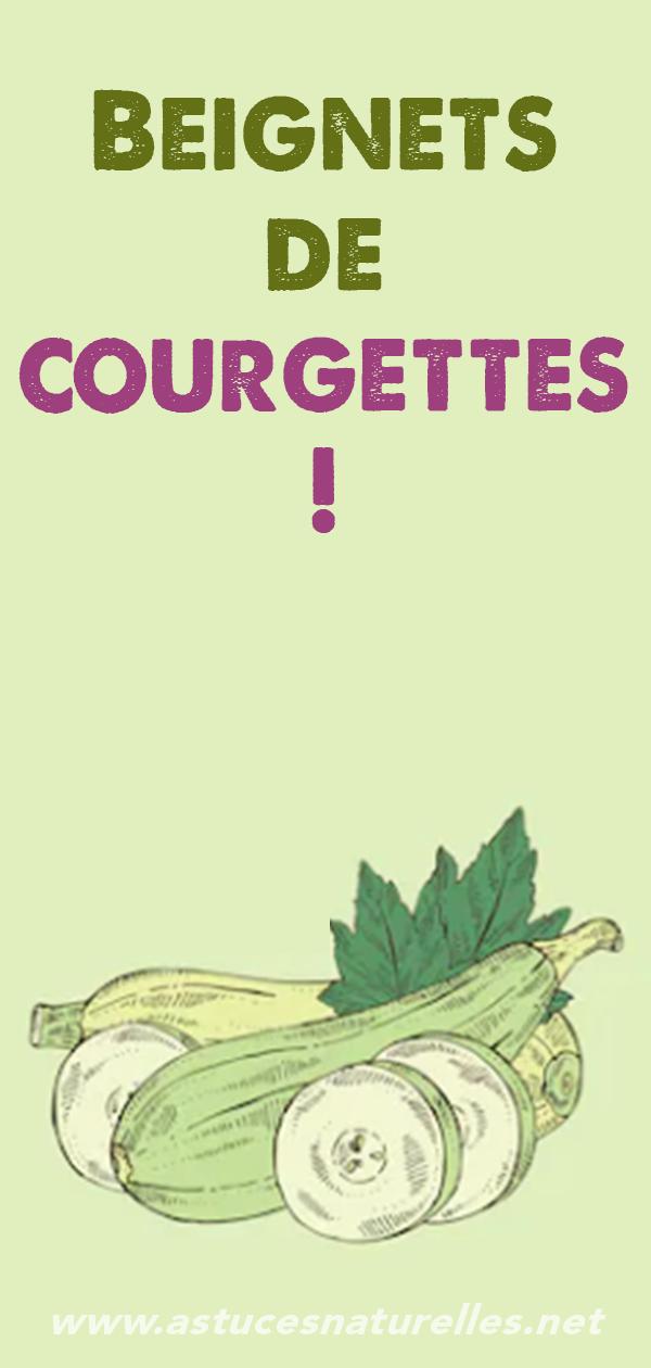 Beignets de courgettes!